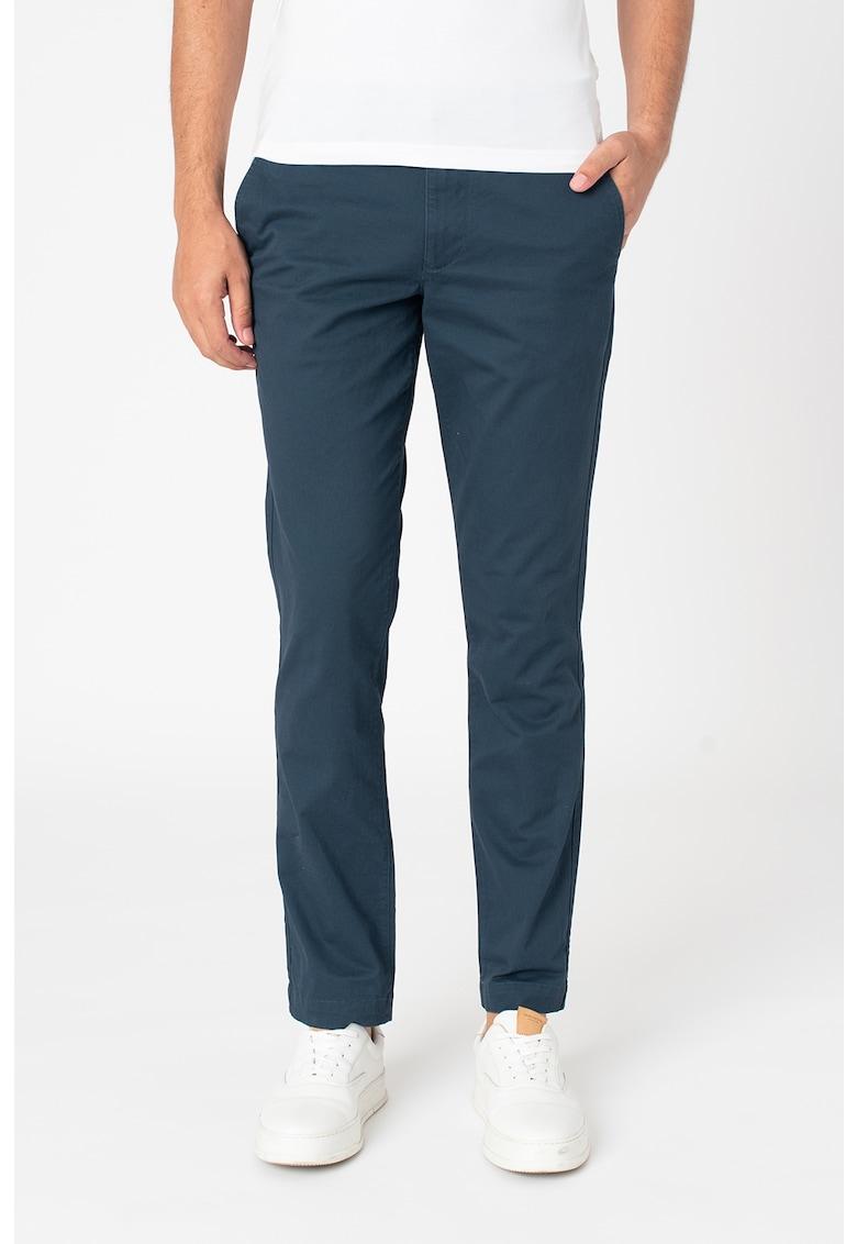 Pantaloni chino cu buzunare oblice