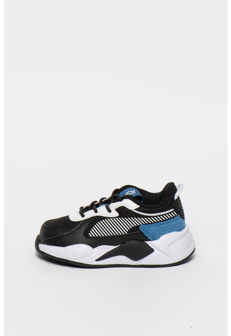 Pantofi sport din piele si plasa RS-X Collegiate AC