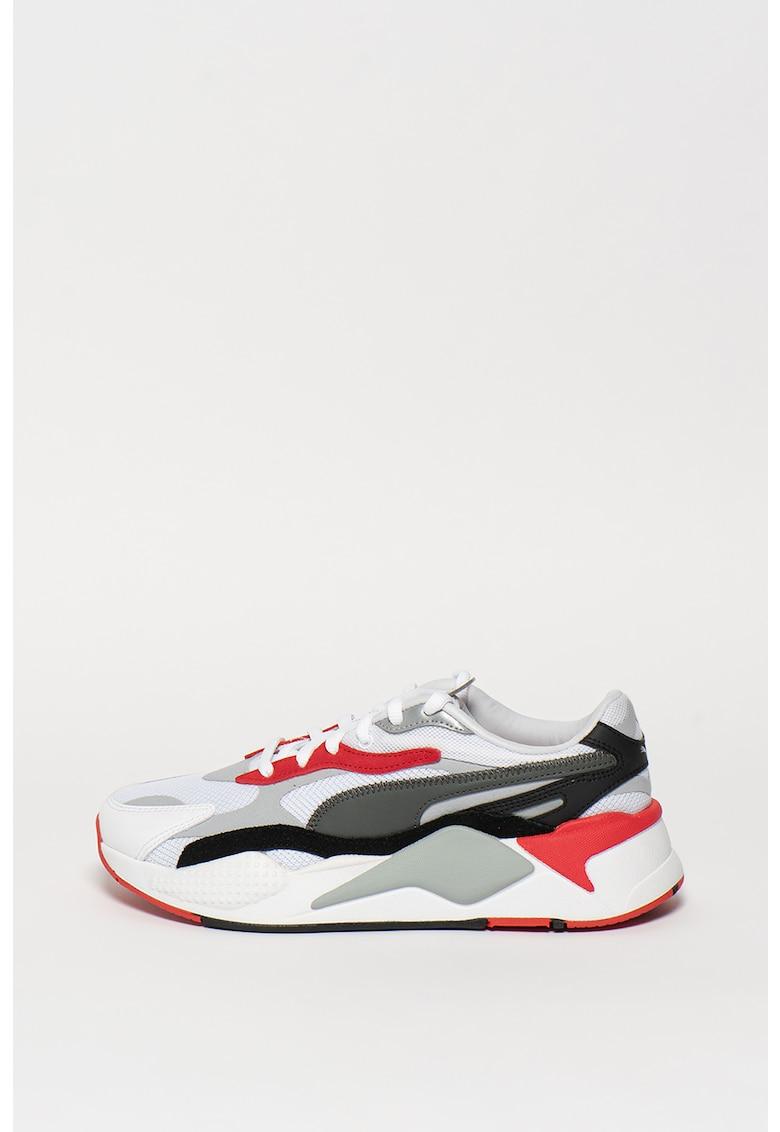 Pantofi cu insertii de piele intoarsa sintetica - pentru alergare RS-X imagine