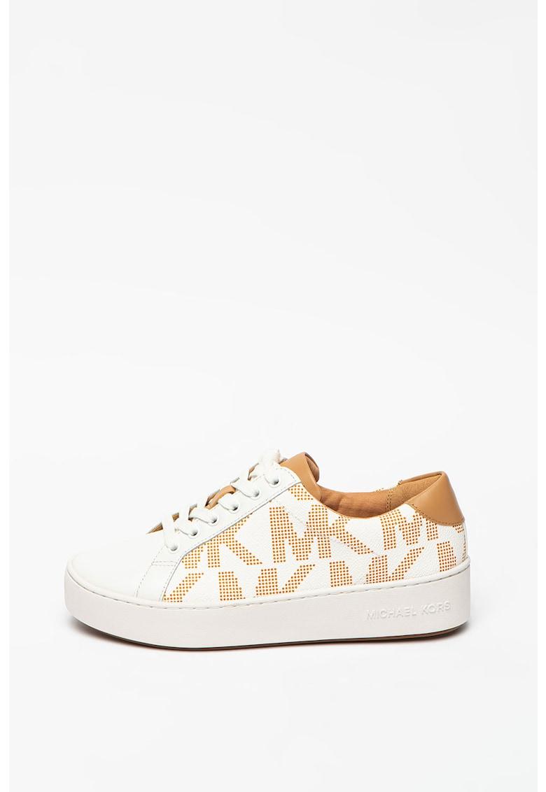 Pantofi sport cu insertii de piele Poppy