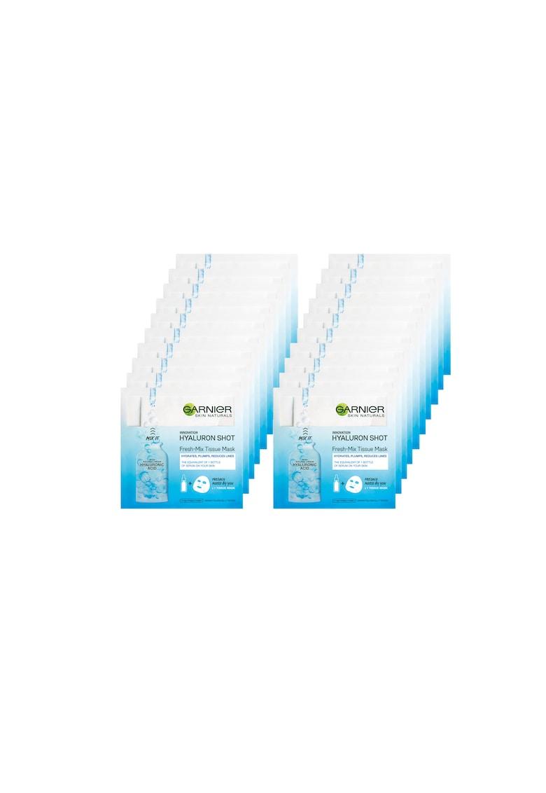 Garnier Pachet promo : 20 x Masca servetel Fresh-Mix Hyaluron - 33 g