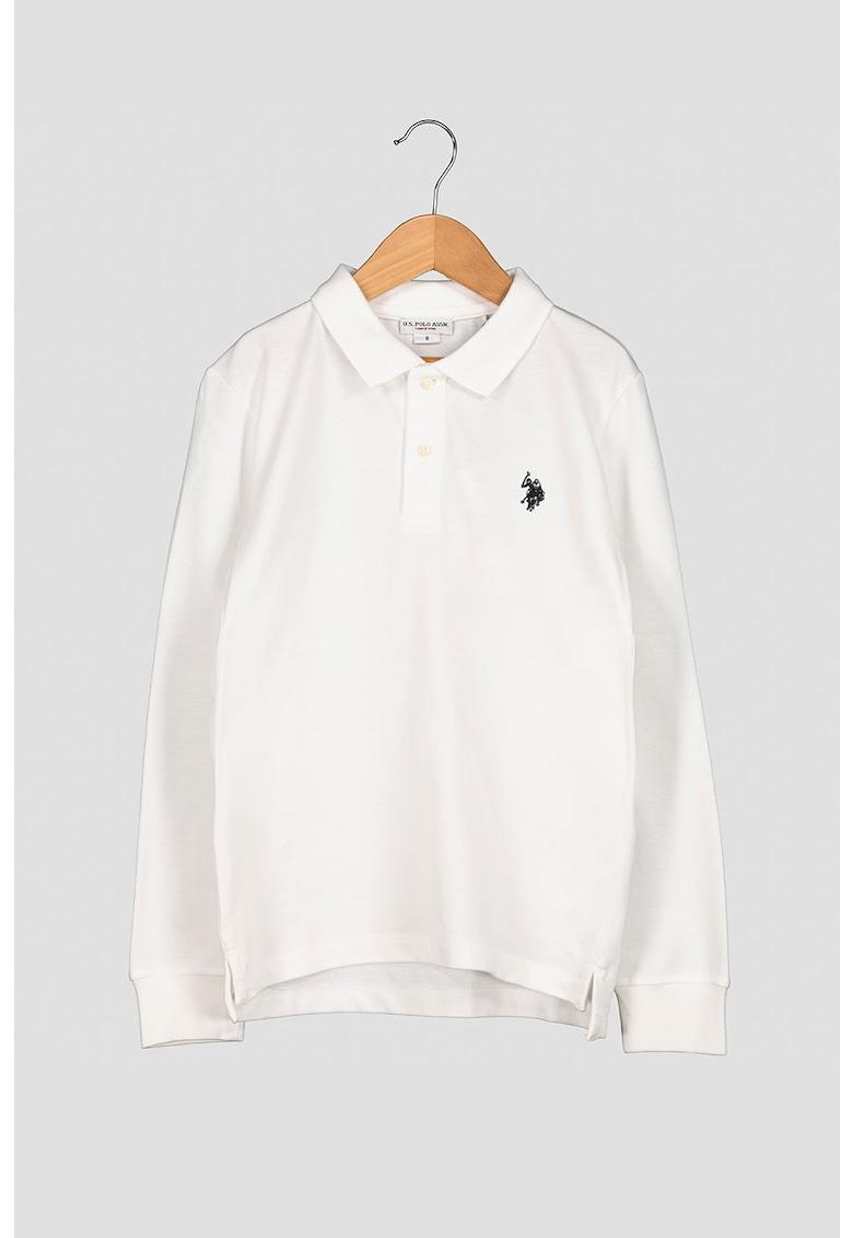 Bluza polo de bumbac imagine