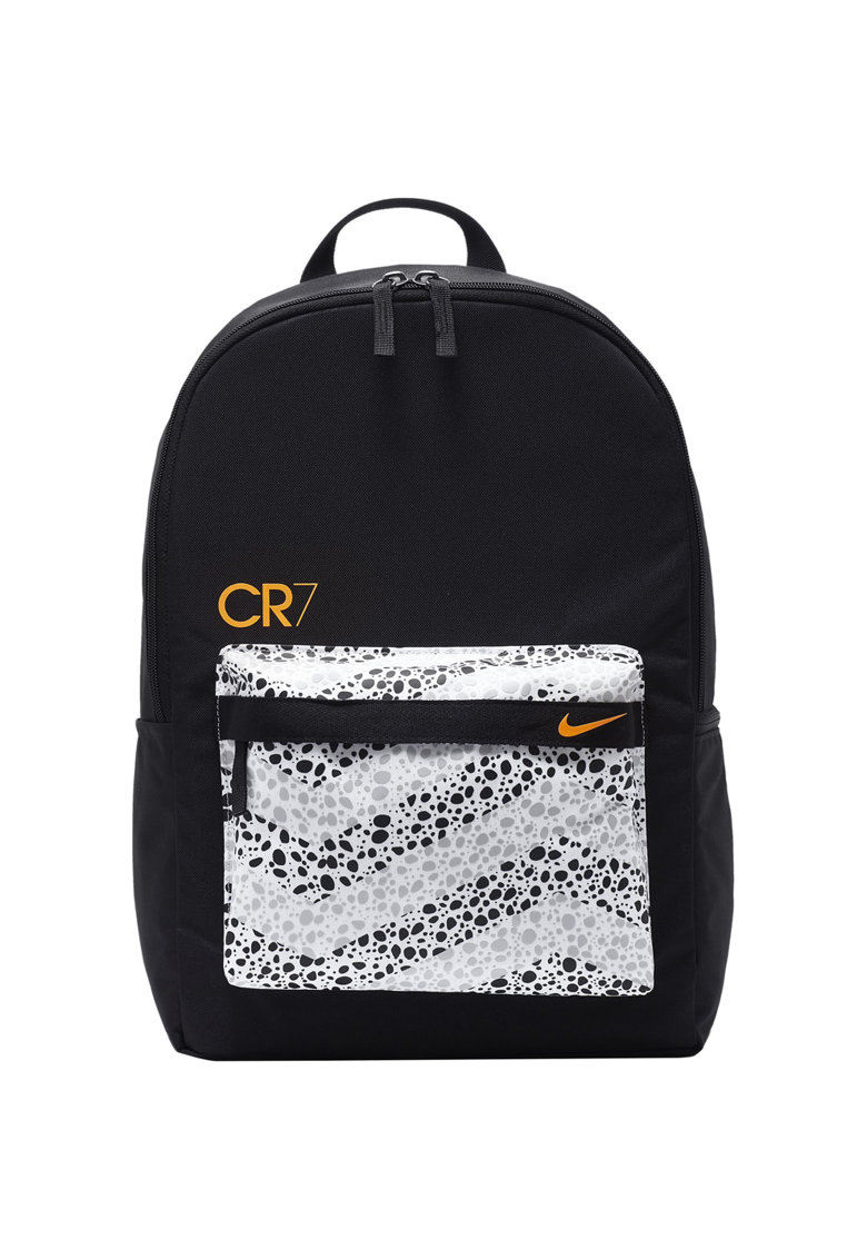 Rucsac sport CR7 - Black/White/Total Orange