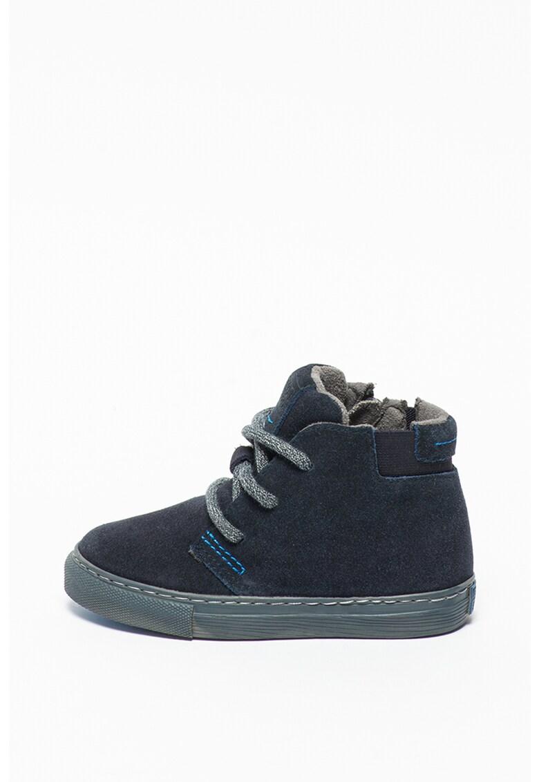 Pantofi high-top de piele intoarsa Freren