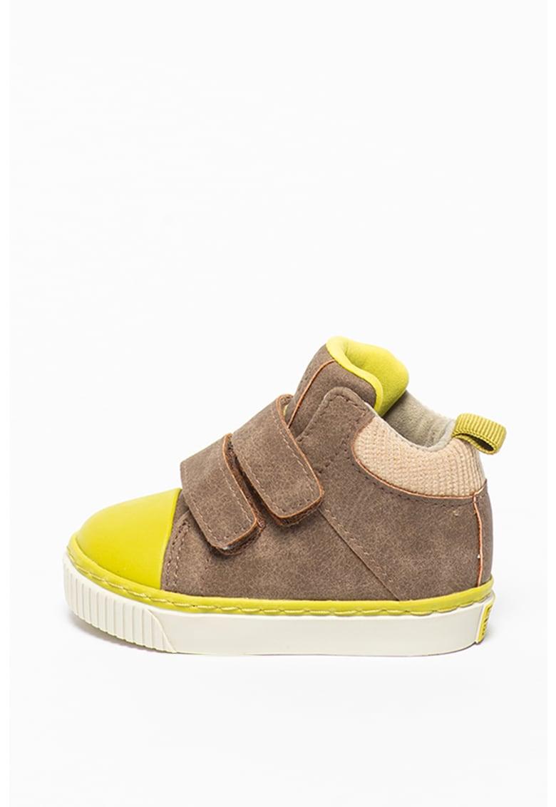 Pantofi sport mid-high cu velcro Erding