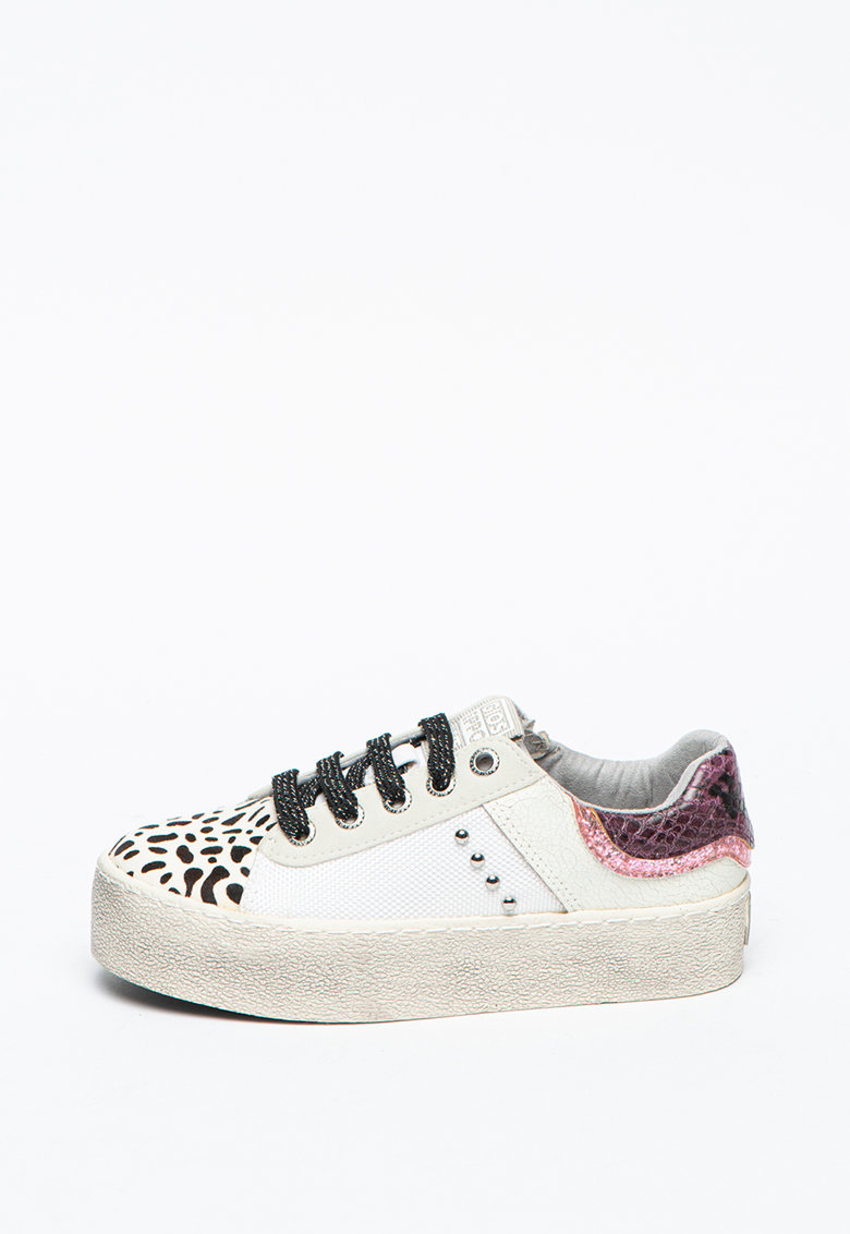 Pantofi sport cu garnituri din piele Nandrin