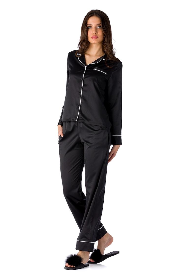 Pijama cu buzunar pe piept Coco imagine fashiondays.ro 2021