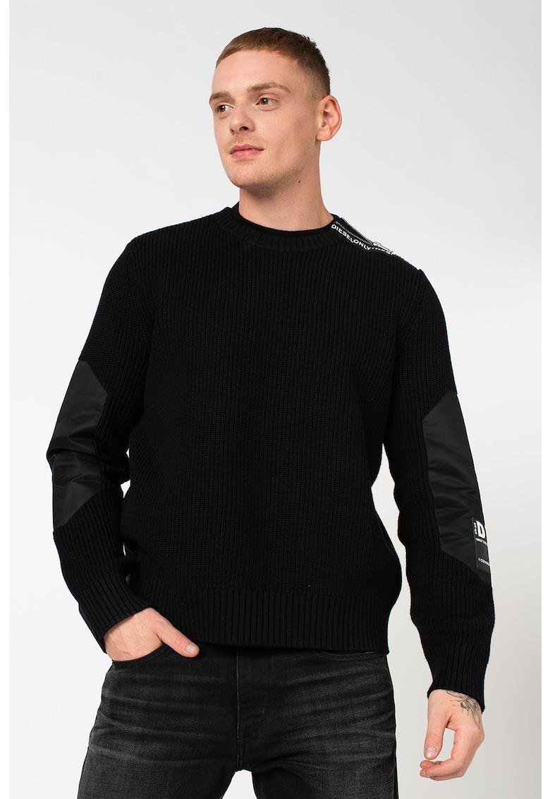Pulover din amestec de lana K-Gilling