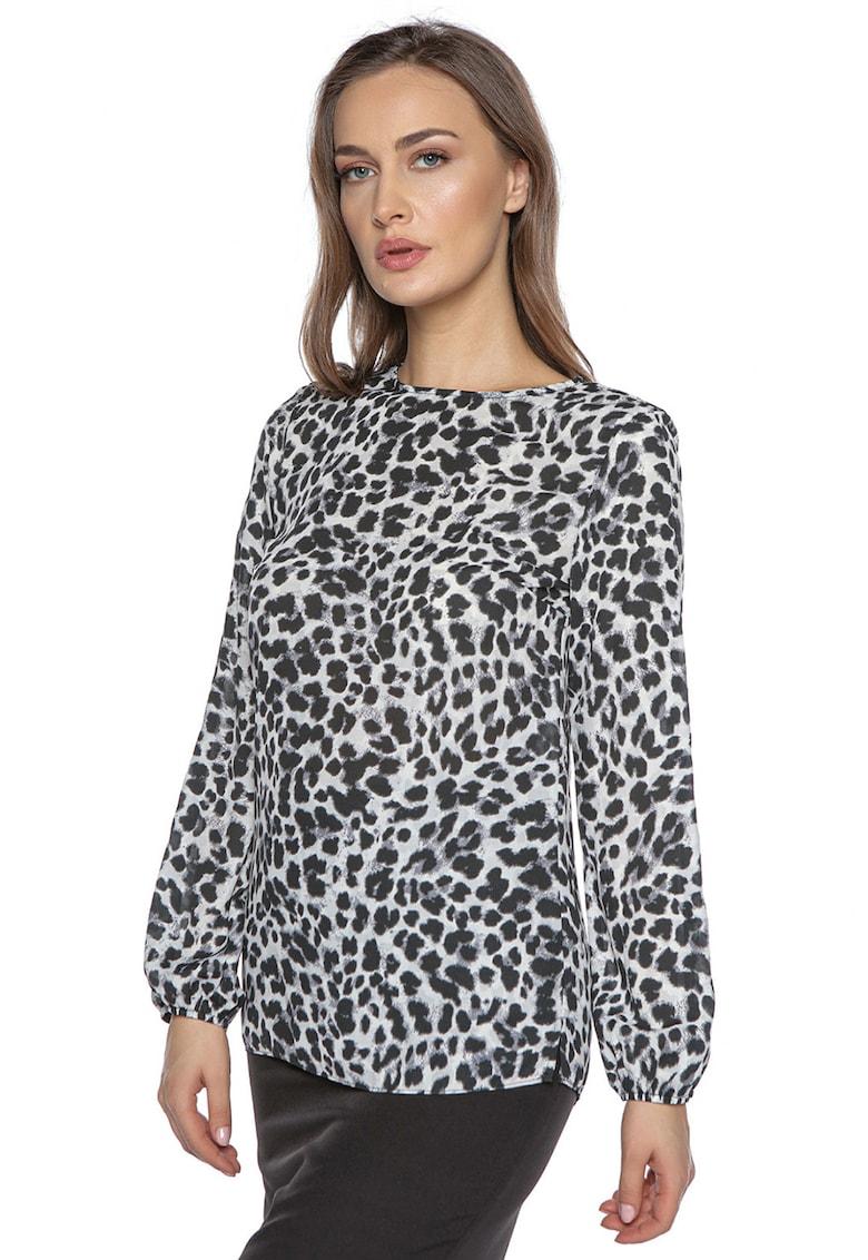 Bluza cu animal print imagine fashiondays.ro Miss One