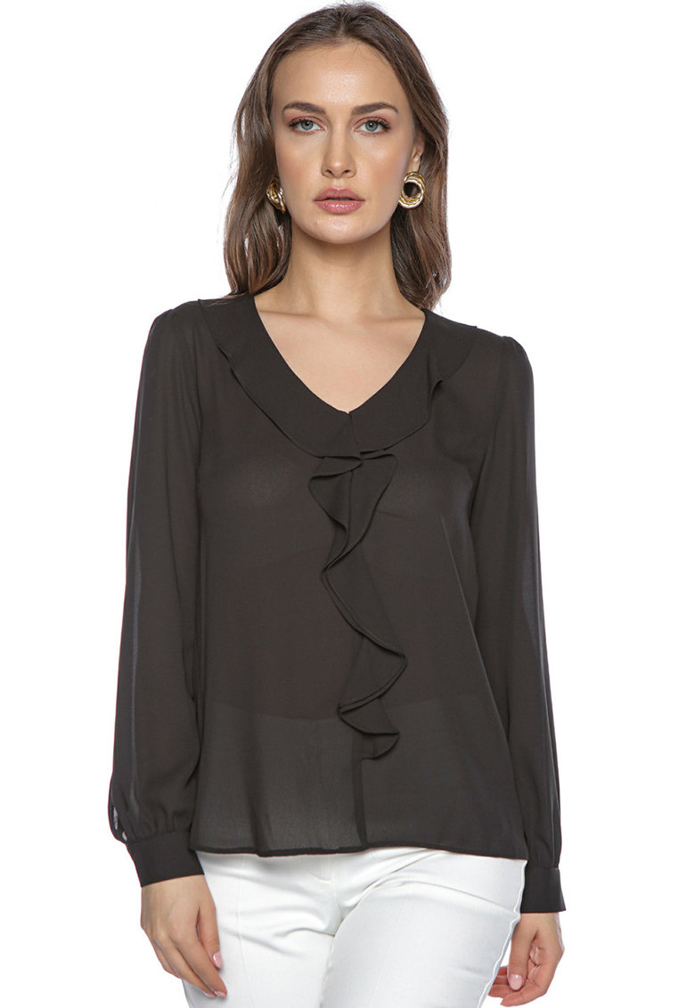 Bluza cu aspect semitransparent imagine
