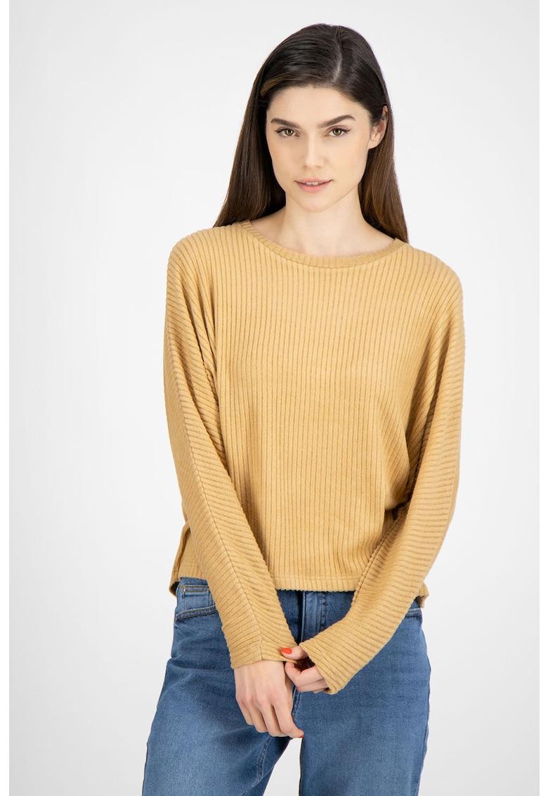 Pulover tricotat fin - cu aspect striat de la byoung