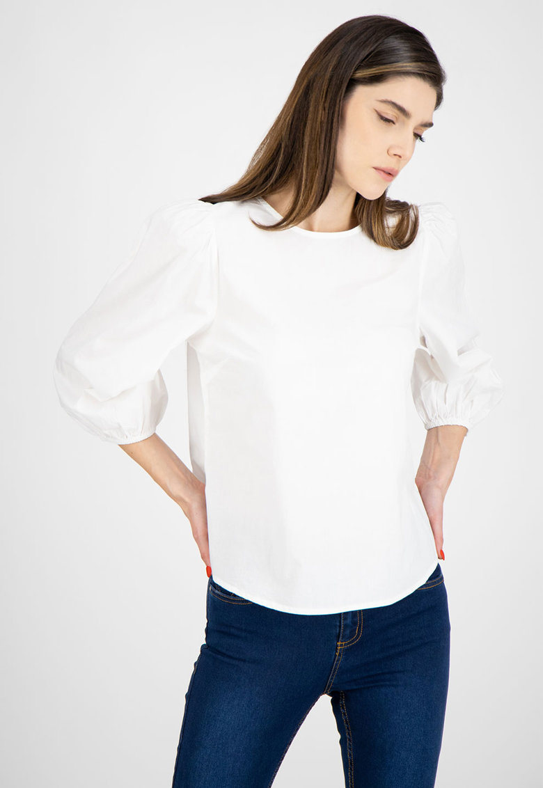 Bluza cu maneci trei sferturi bufante b.young imagine 2021