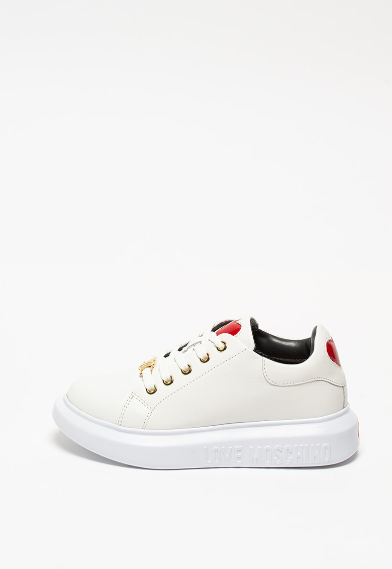 Pantofi sport cu insertii din piele imagine