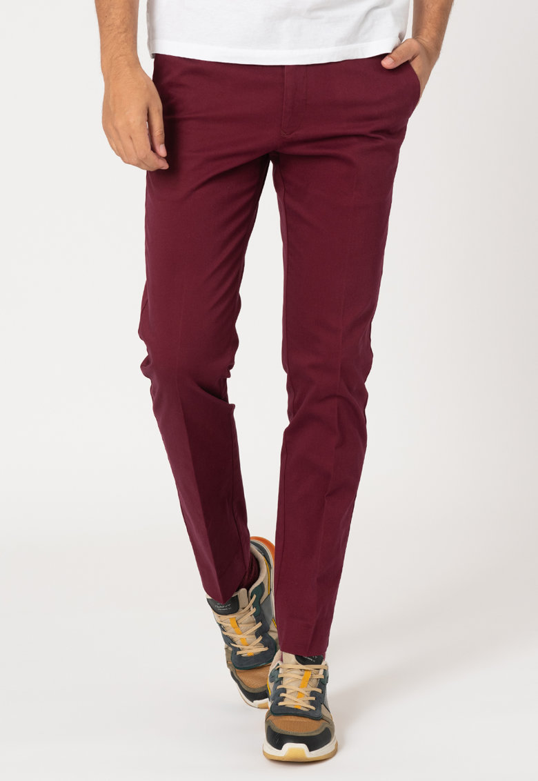 Pantaloni chino slim fit imagine promotie