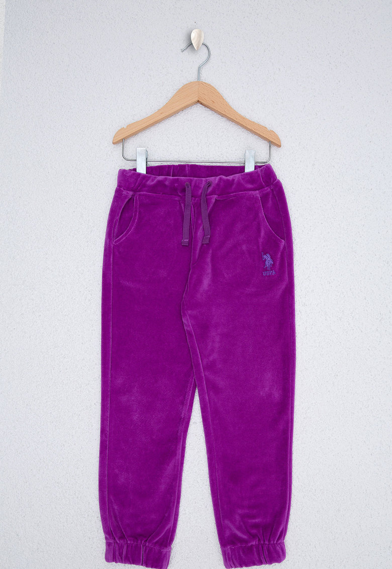 Pantaloni sport catifelati