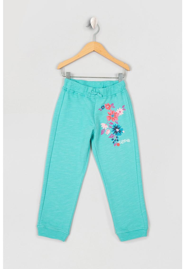 US Polo Assn Pantaloni sport cu mansete elastice
