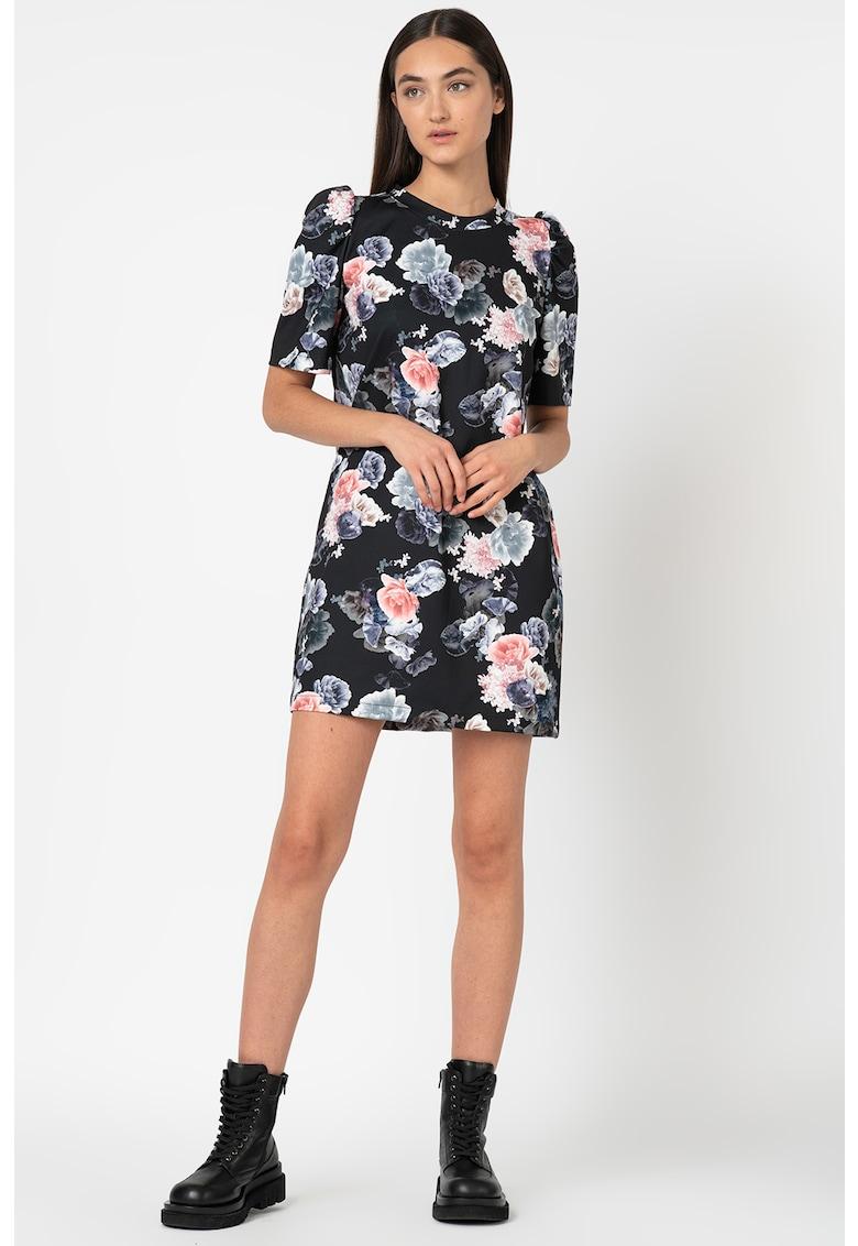 Rochie mini cu imprimeu floral Antonia-M