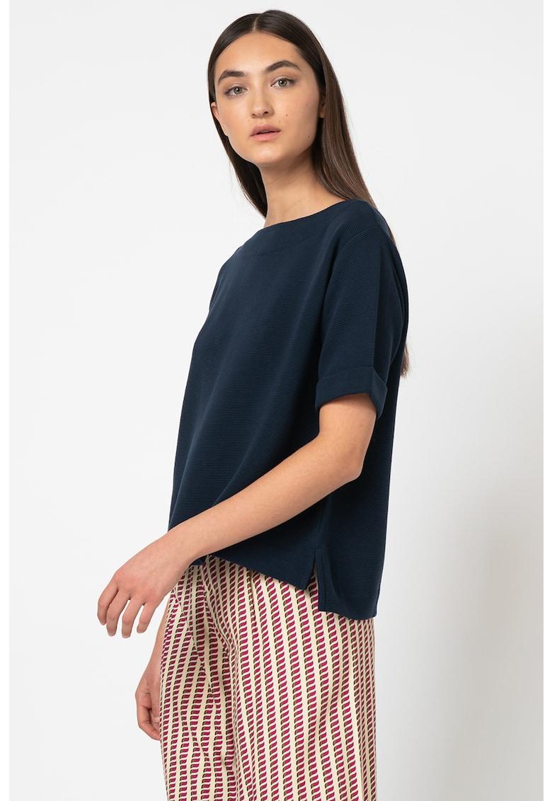 Bluza lejera cu terminatie asimetrica imagine