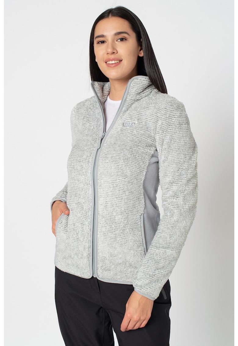 Jacheta din fleece pentru drumetii Pine Leaf