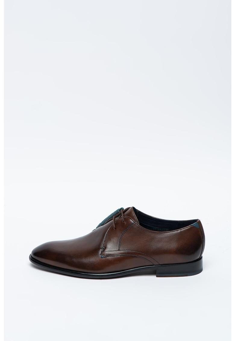 Pantofi derby de piele Sumpsa imagine