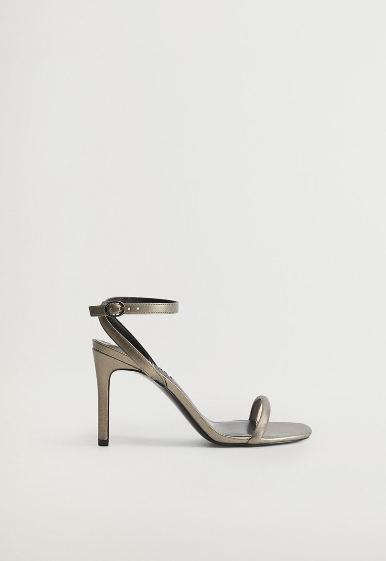 Sandale stiletto cu bareta pe glezna Lali
