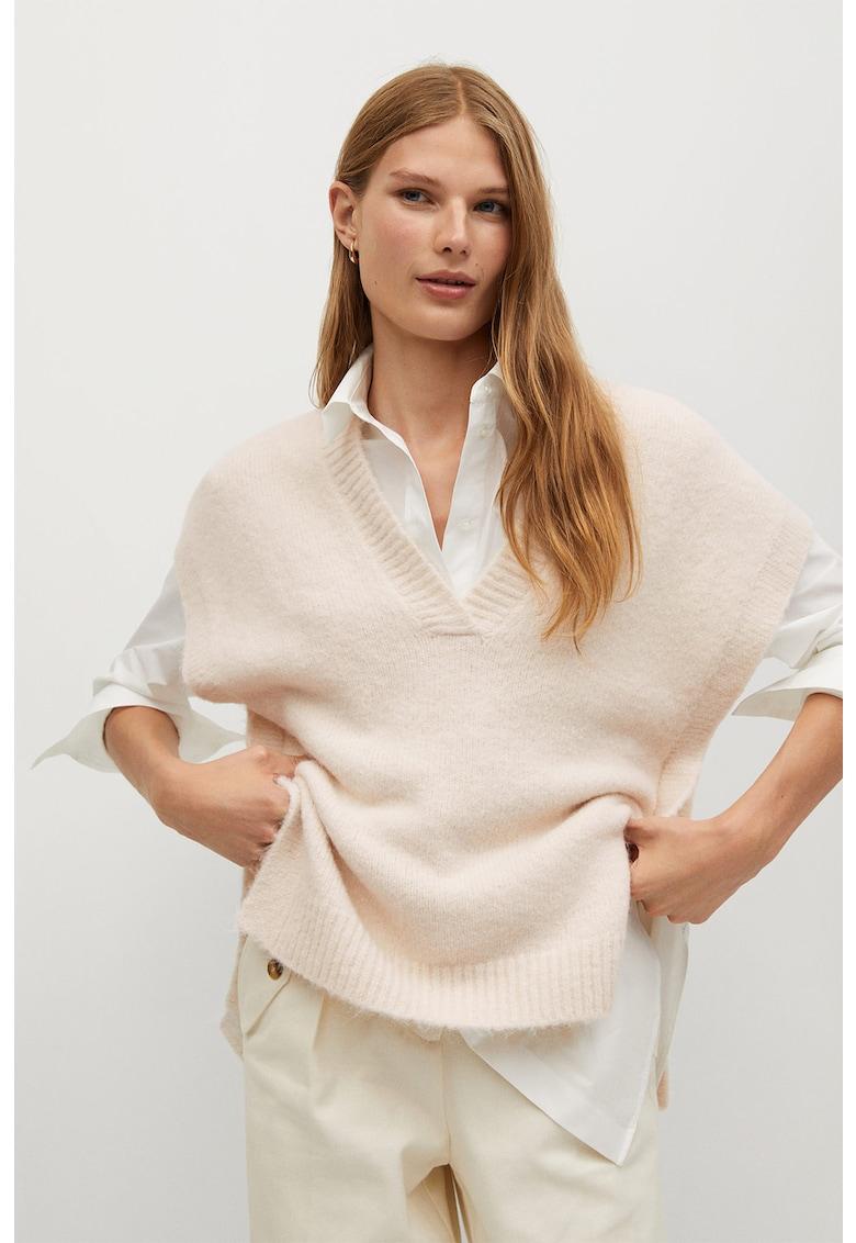 Vesta din amestec de lana Paloma