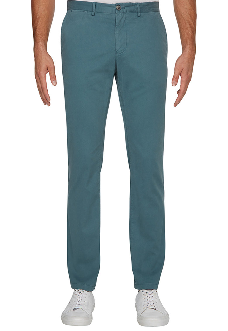 Pantaloni chino cu croiala dreapta Denton