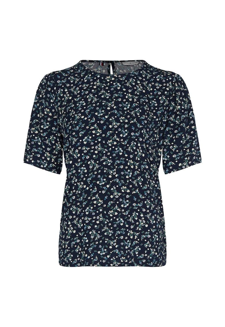Bluza din viscoza cu imprimeu floral imagine