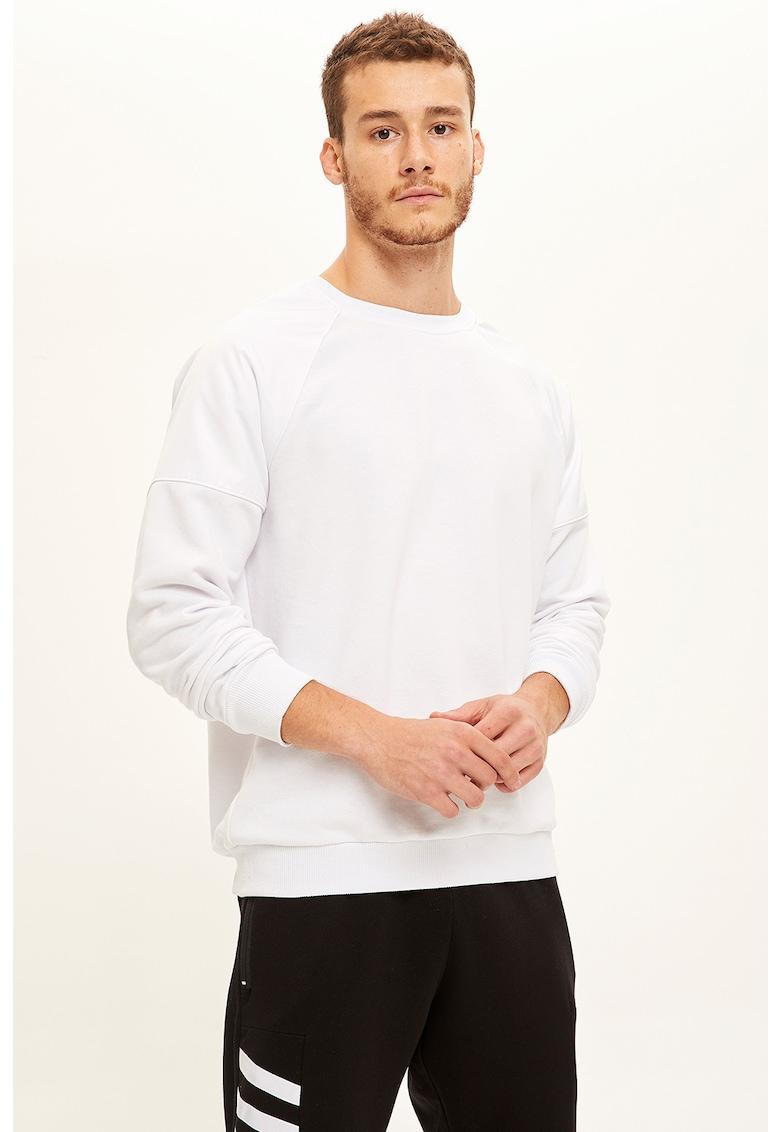 Bluza sport slim fit cu decolteu la baza gatului DeFacto imagine 2021