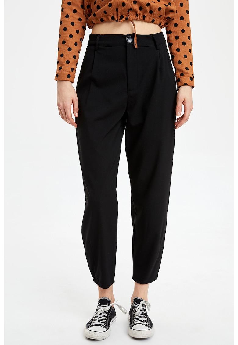 Pantaloni crop conici c DeFacto imagine 2021