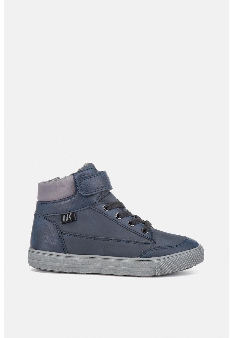 Pantofi sport tip ghete din piele ecologica cu banda velcro fashiondays.ro