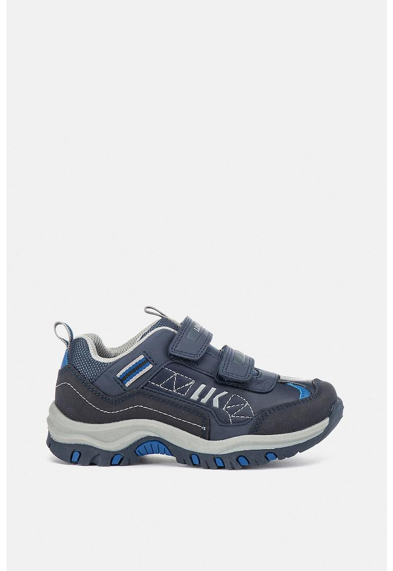 Pantofi sport din piele ecologica cu inchidere velcro de la Lumberjack