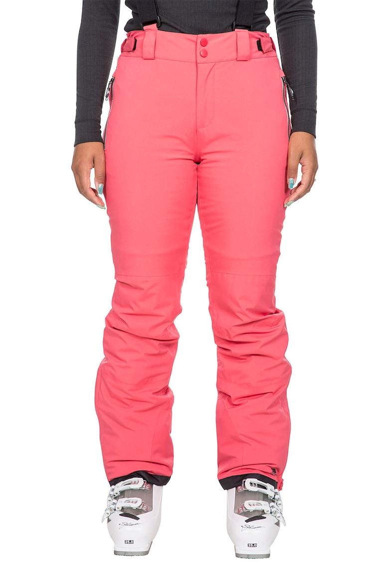 Pantaloni cu vatelina subtire si buzunare exterioare cu fermoar - pentru schi Roseanne