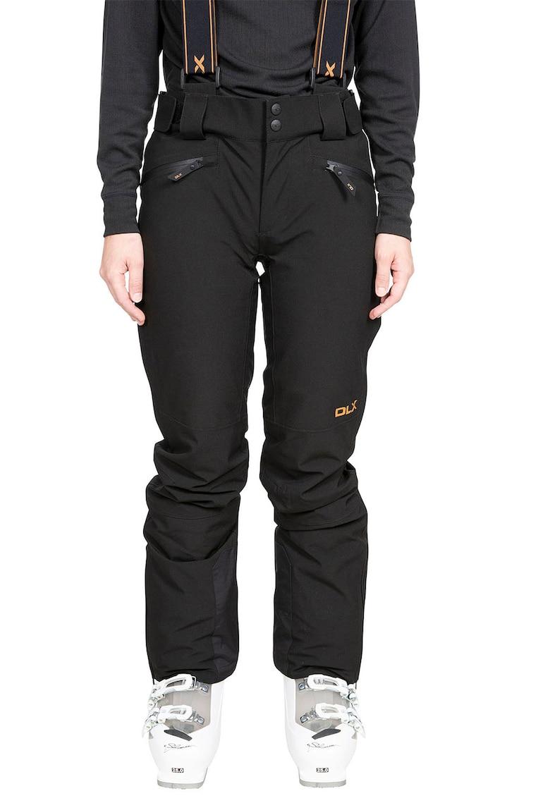 Pantaloni slim fit impermeabili cu bretele detasabile - pentru schi Sylvia