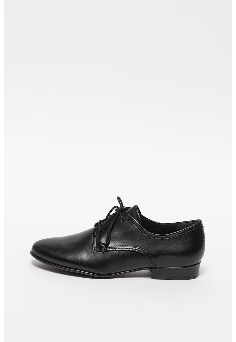 Pantofi derby din piele imagine promotie