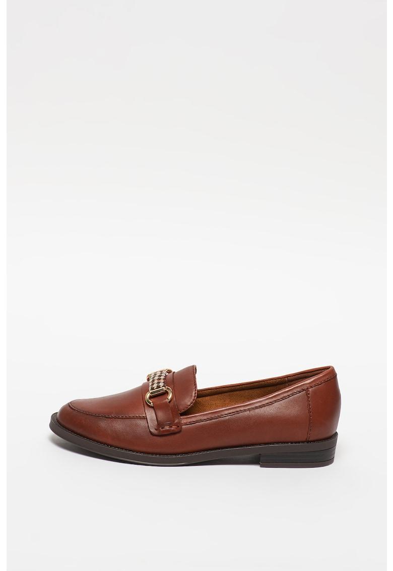 Pantofi loafer din piele imagine