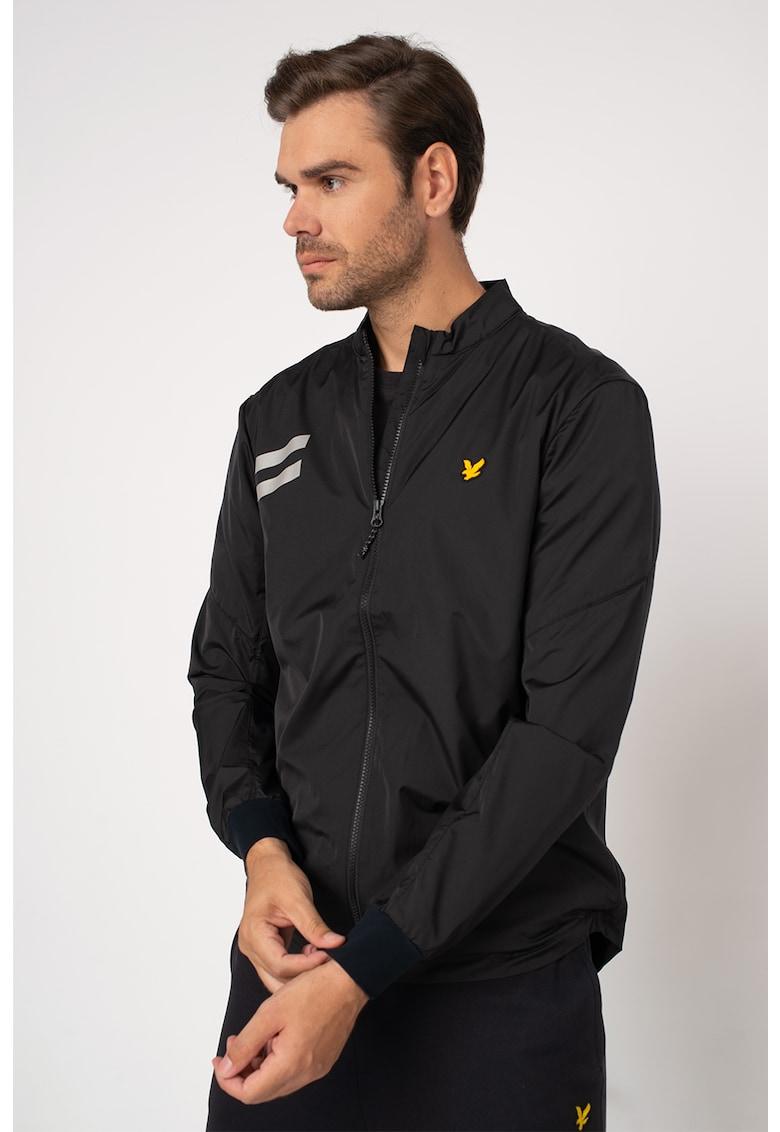Jacheta de trening cu logo pe piept