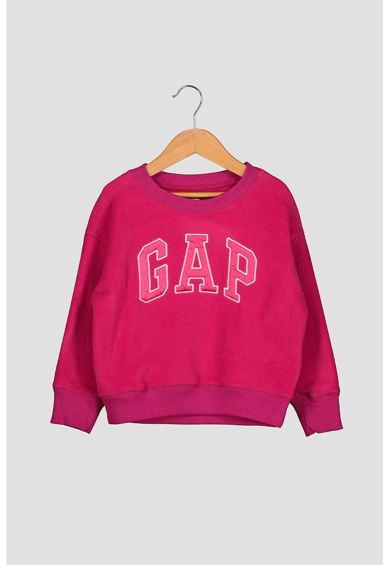 Bluza sport din fleece cu logo de la GAP