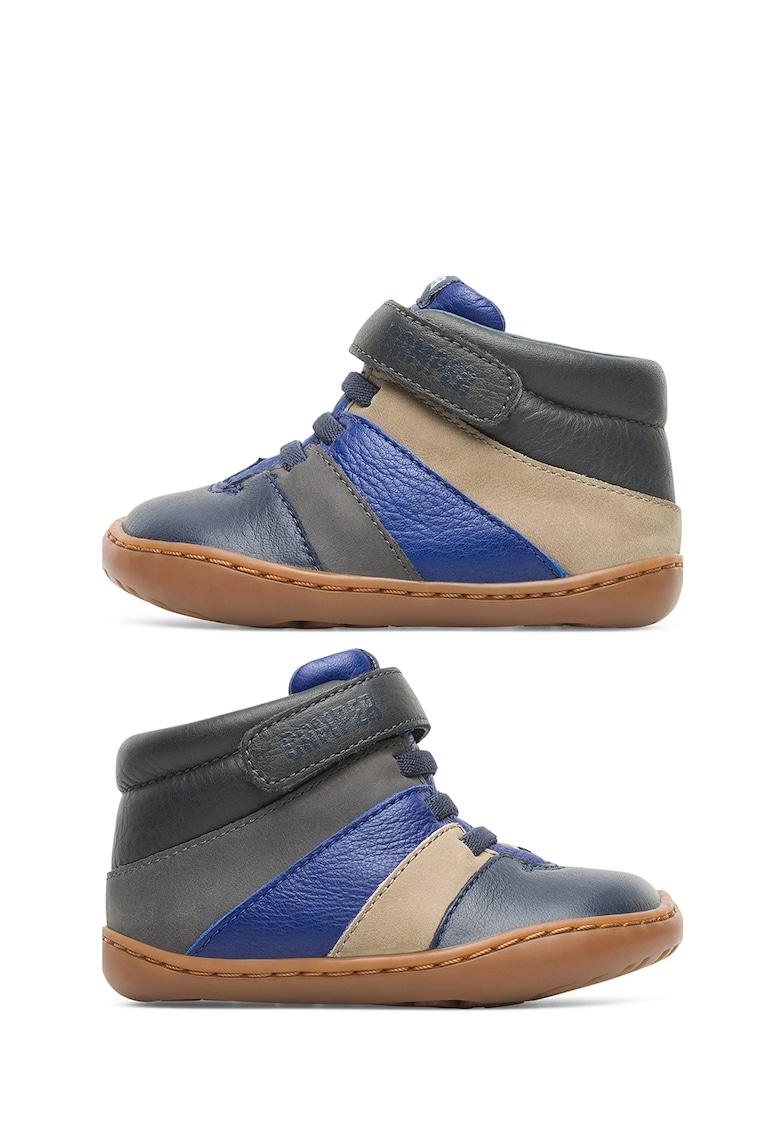 Pantofi de piele cu banda velcro imagine