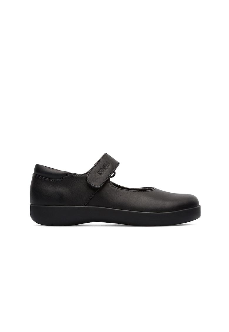 Pantofi Mary Jane de piele