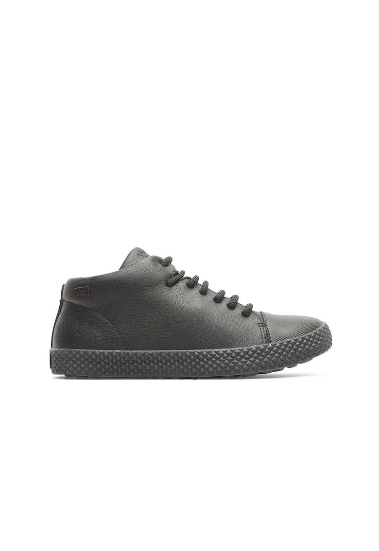 Pantofi sport low-cut de piele