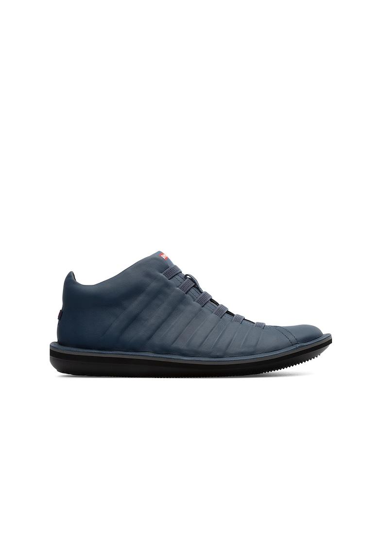 Pantofi sport de piele cu benzi elastice imagine