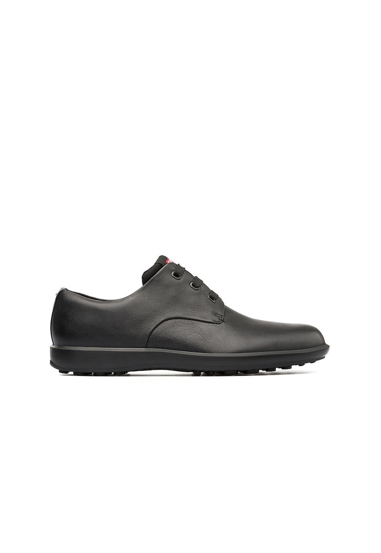 Pantofi de piele cu logo imagine