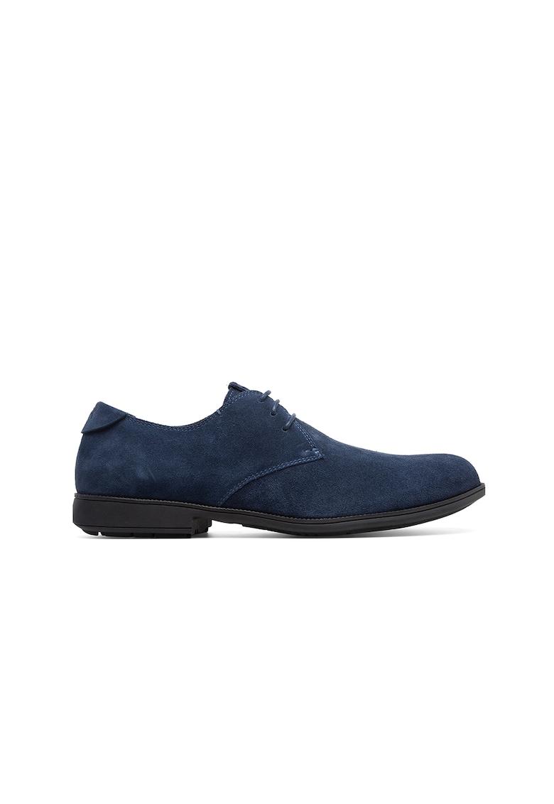 Pantofi derby de piele intoarsa imagine