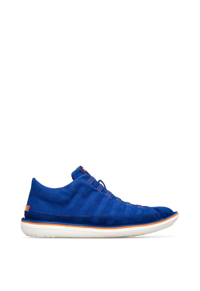 Pantofi sport din piele intoarsa si material textil imagine
