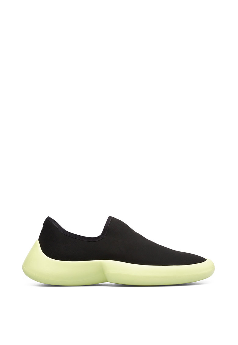 Pantofi sport slip-on cu talpa wedge imagine