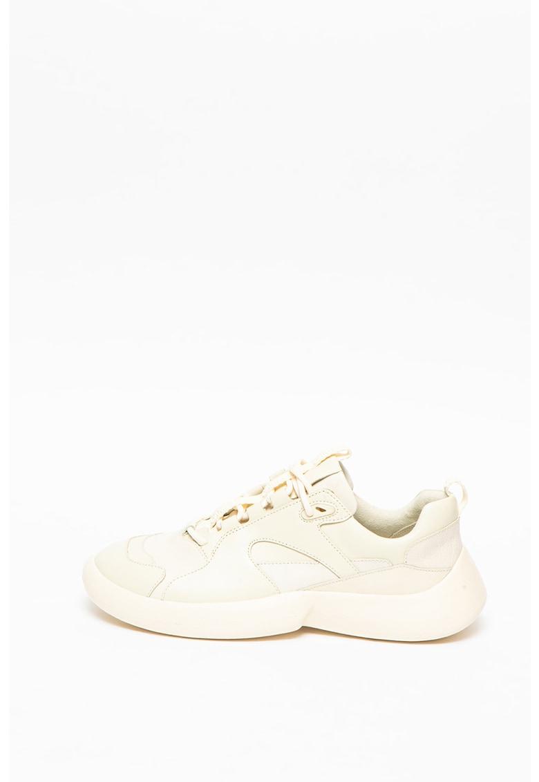 Pantofi sport din piele si piele nabuc ABS imagine