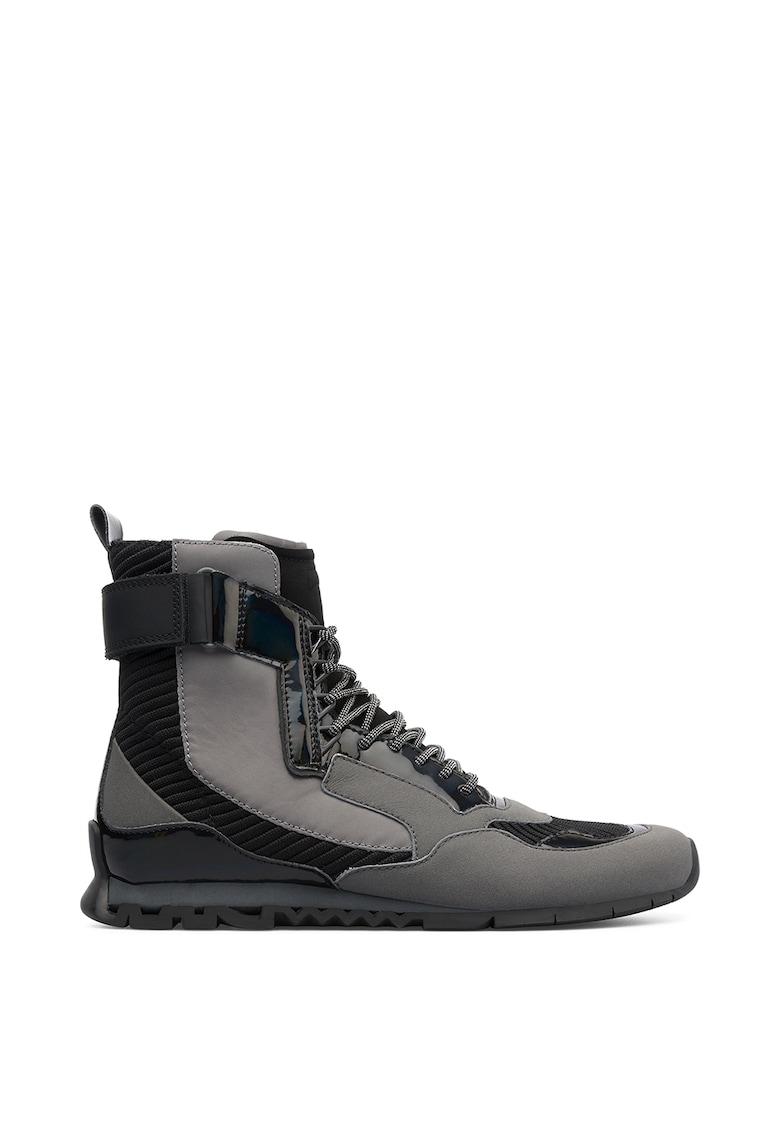 Ghete tip pantofi sport cu detalii reflectorizante