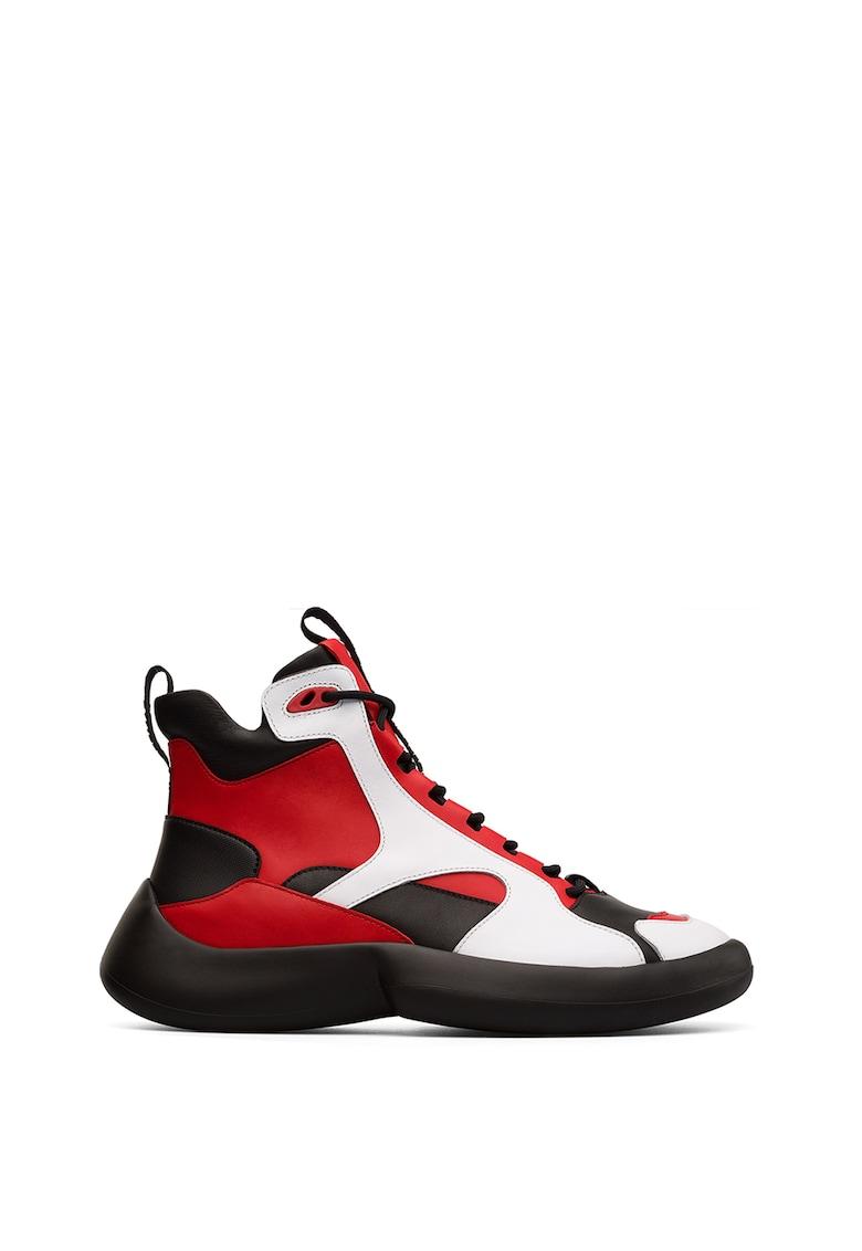Pantofi sport inalti din piele Abs
