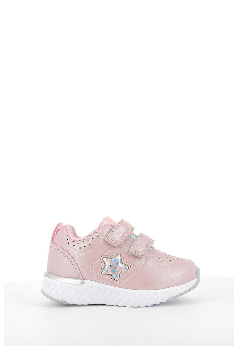 Pantofi sport de piele ecologica cu velcro imagine promotie